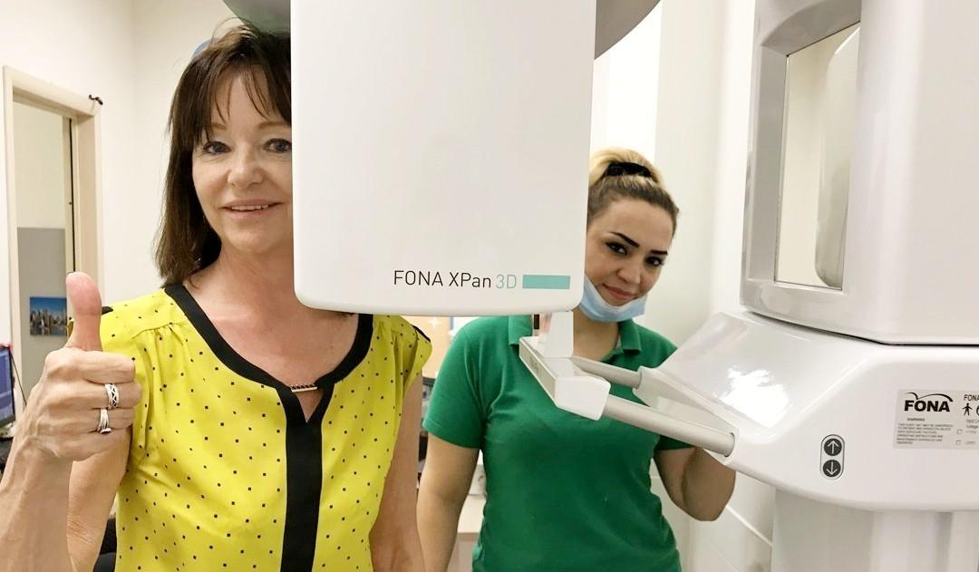 снимок перед имплантацией